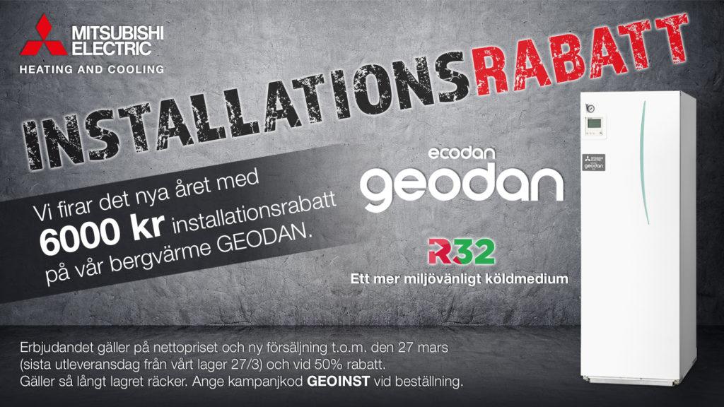 Geodan-Installationsrabatt 2020